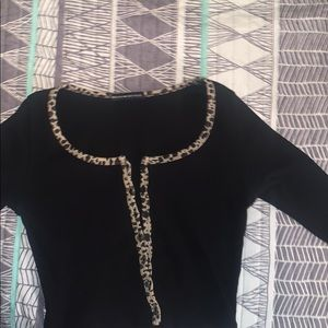 Long sleeve brandy zelly top